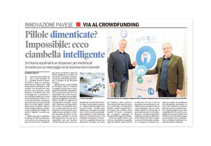 """You are currently viewing Dicono di noi: pubblicato un articolo di NORBI su """"La Provincia Pavese"""""""